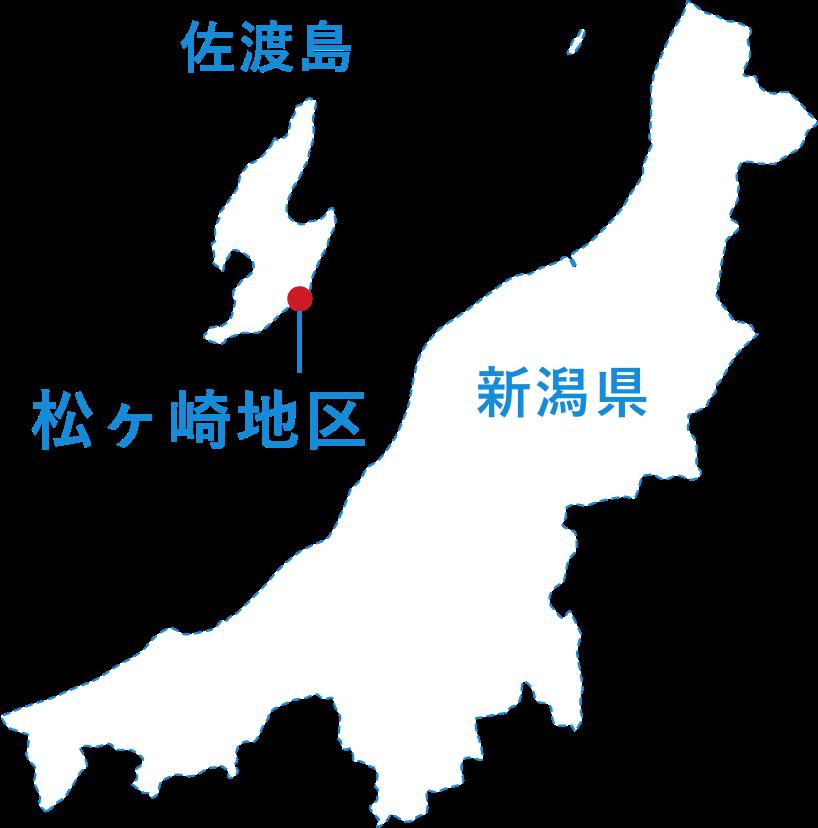 松ヶ崎の地図