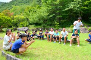 紅葉山公園での夏休みイベント